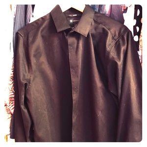 INC International Concepts M slim fit shirt